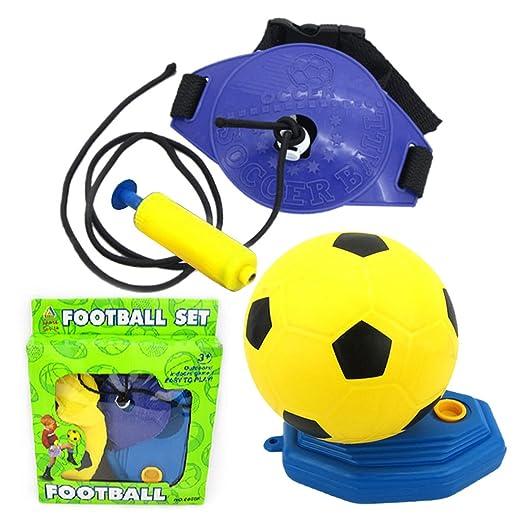 JAGENIE - Juego de fútbol Hinchable portátil para niños ...
