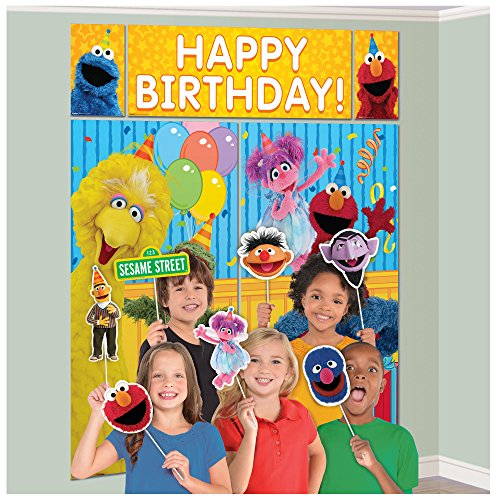 Amscan Sesame Street Photo Props (17 ct)