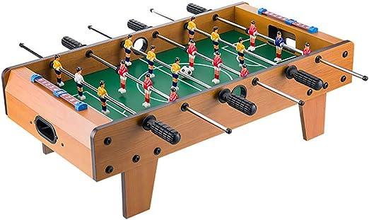 WHTBOX Futbol de Mesa/FutbolíN para,Adecuado Personas Mayores de 3 AñOs,Juego De Mesa,FúTbolista,Deporte,Soccer,Football, BalóN Robusto,Resistente,FúTbol,Brown-L: Amazon.es: Jardín