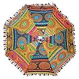 Marusthali Antique Rajasthani Umbrellas Embroidery Designer Cotton Umbrella