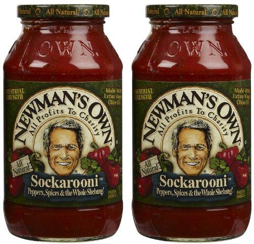Newman's Own Sockarooni Pasta Sauce, 24 oz, 2 pk ()