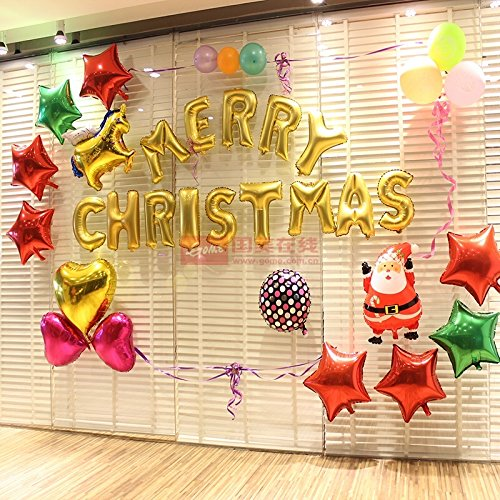 Christmas Party Decorations - AuroTrends Gold 16