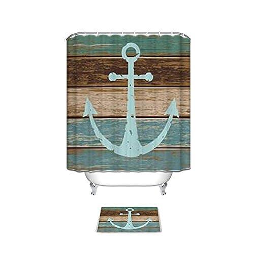 Anchor Bathroom Rug: Nautical Bath Rugs Set: Amazon.com