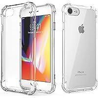 Funda Transparente Compatible para iPhone 7, iPhone 8 y iPhone SE 2ª Generación (2020), Carcasa con Diseño Fino…