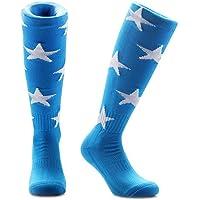 Samson Hosiery ® azul y blanco estrellas impresión