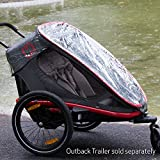 Hamax Rain Cover Outback Multi-Sport Trailer + Stroller + Jogger (Outback ONE)