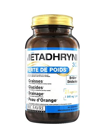 Amazon.com: Eric Favre métadhryne 30,3 90 tabletas: Health ...
