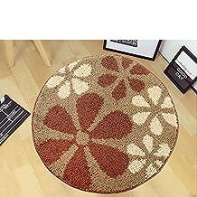 Round anti-skid mat chair/Computer pad/Modern minimalist pad/Door mat living room bedroom bedside mats-C diametro80cm(31inch)