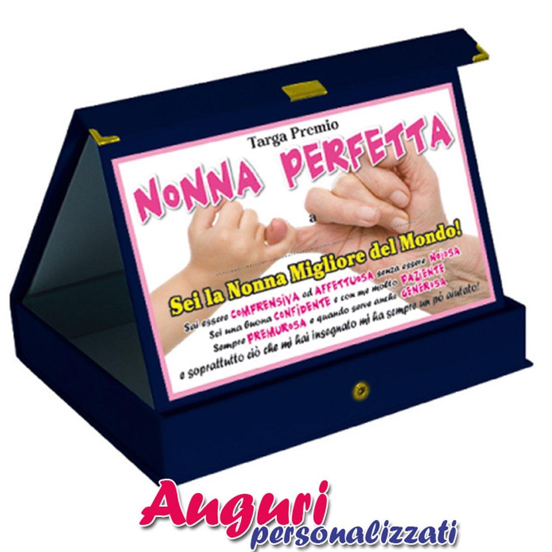 Targa Premio Nonno Perfetto Amazon It Giochi E Giocattoli