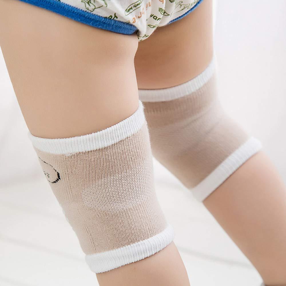 JMAHM 5 Paar Baby Kleinkind Knie Ellenbogen Bein Krabbeln knieschoner Upgrade Hohe Qualit/ät f/ür 0-24 Monate