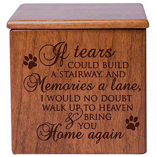 Cremation Urns for Pets SMALL Memorial Keepsake box for D...