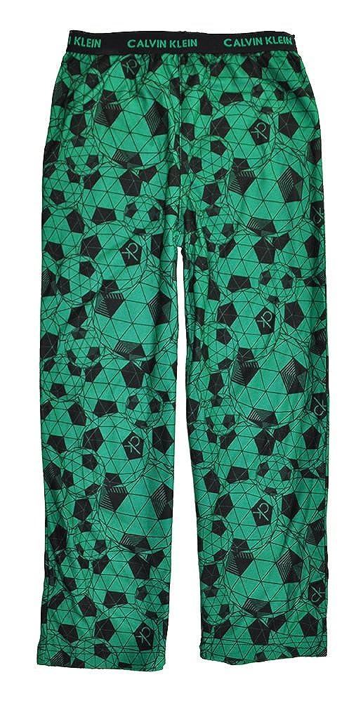 Calvin Klein Little/Big Boys Printed Pajama Pant Green Soccer 5/6 37469315