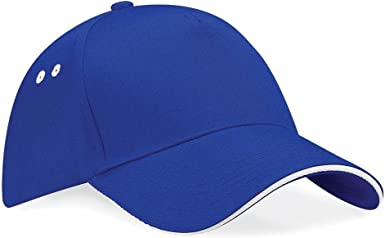Beechfield 5 Panel Contrast Snapback Caps /& Hats Etc All Sizes and Colours