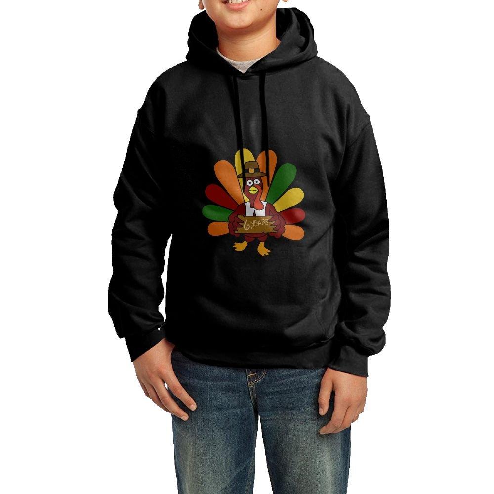 Hunter Youth Cotton Hooded Sweatshirt