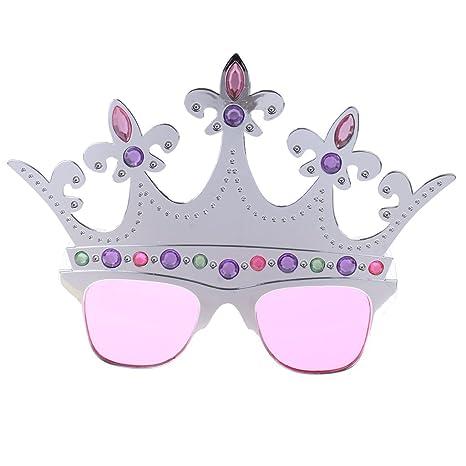 Sharplace Occhiali Divertenti Insetto Corana Cigno Stella Foto Props Per Halloween Natale Carnevale - 10 EL22N