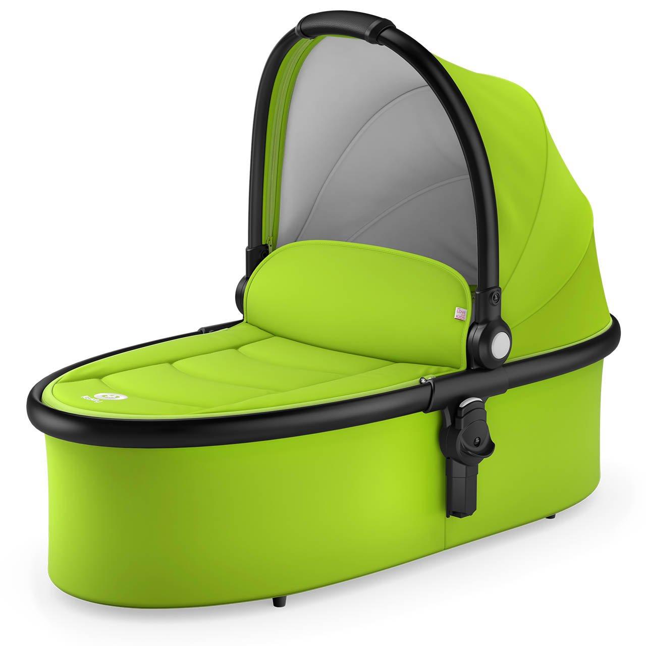 Geburt 6 Monate, circa 9 kg Lime kiddy 4601FCC097 Carrycot Evostar 1 Babywanne, gr/ün