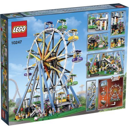 LEGO Creator Expert Ferris Wheel Build the Iconic Ferris Wheel by (Expert Wheel)