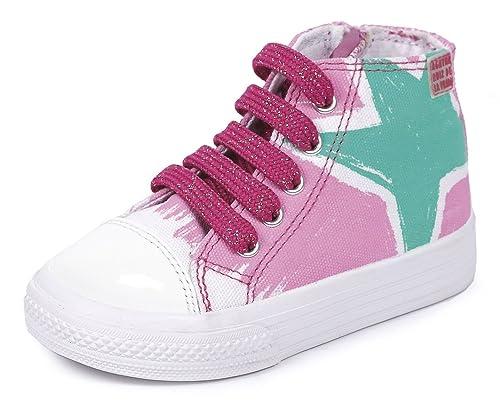 Agatha Ruiz de la Prada 152921 - zapatillas deportivas altas de lona niña: Amazon.es: Zapatos y complementos