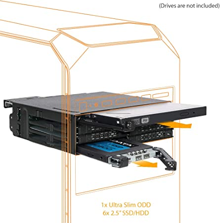 Icy Dock ToughArmor MB606SPO-B Backplane Cage para 6 x SSD/HDD 2.5 ...