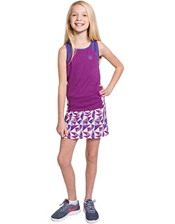 da1786dafed64 Street Tennis Club Girls Tennis Tank and Skirt Set with Built in Shorts