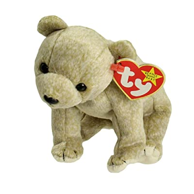 Ty Beanie Babies - Almond the Bear [Toy]: Toys & Games