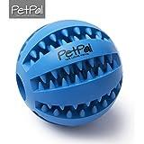 Hundespielzeug Ball & Frisbee von PetPäl aus Naturkautschuk | Spielzeug für Hunde | Robuster Natur-Gummi Hundeball für Leckerli | Langlebiger Hundespielball | Auch für Welpen | Kauspielzeug | Spielzeug für Hunde
