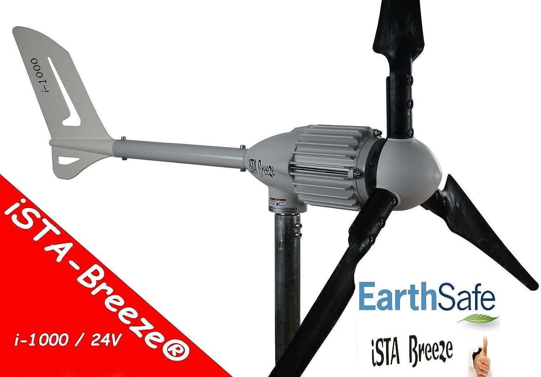 1000W viento generador 24V/48V Modelo Generador de 1000Wind I, ISTA de Breeze® Aerogenerador, Wind Turbine, 24.00V