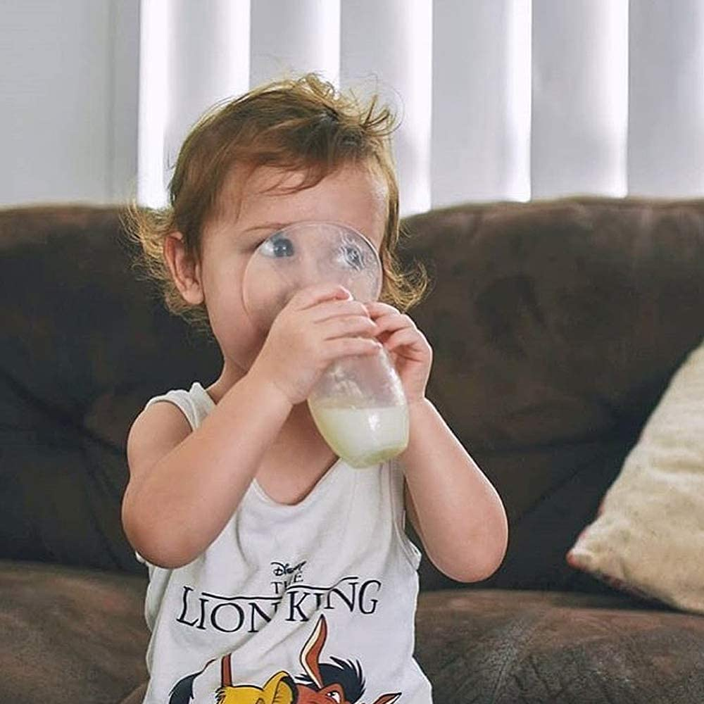 Green Silicone Manual Breast Pump 90ml//4oz Collect /& Cherish Breast Milk for Newborn Enjoy Breastfeeding Journey