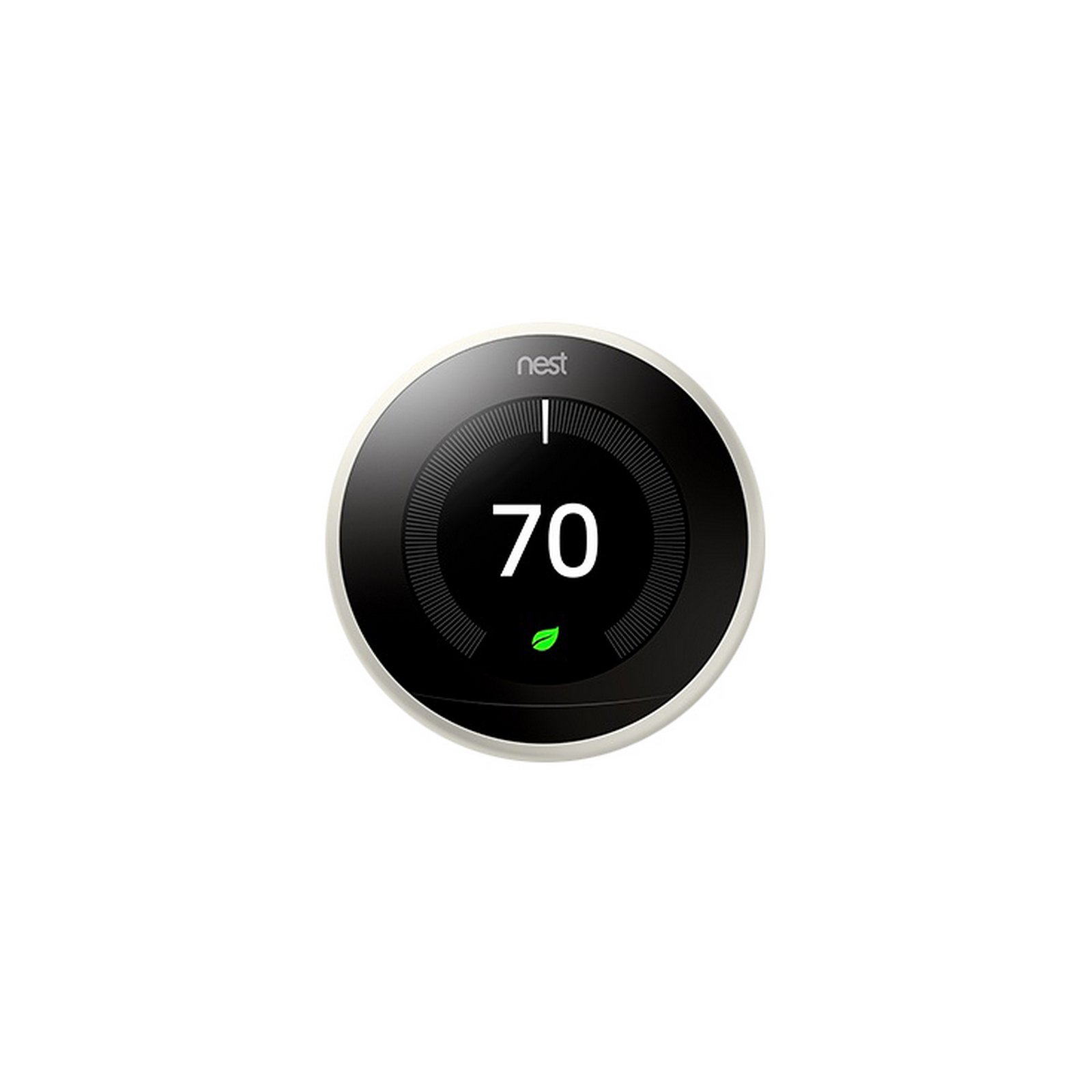 Nest 3rd Generation Programmable Wi-Fi Smart Learning Thermostat T3017US - White by Nest Labs