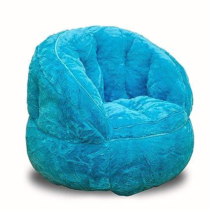 Magnificent Amazon Com Indipartex Jr Bean Bag Chair Toddler Rabbit Fur Unemploymentrelief Wooden Chair Designs For Living Room Unemploymentrelieforg