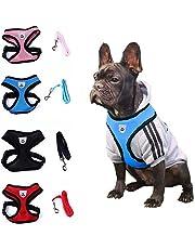 Shangwelluk Correa Cinturón de Seguridad del Coche para Mascota - retráctil Elasticidad Tela de Nylon Reflectante