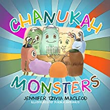 Chanukah Monsters (Jewish Monsters Book 2)