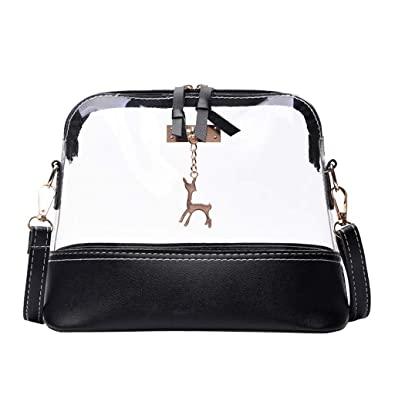 Image Unavailable. Image not available for. Color  Clearance Kumike Fashion Women  Girls Fawn Pendant Shell Beach Shoulder Bag Messenger ... a968ef22f89f1