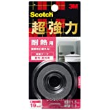 3M スコッチ 超強力両面テープ 耐熱用 19mm×1.5m KHR-19