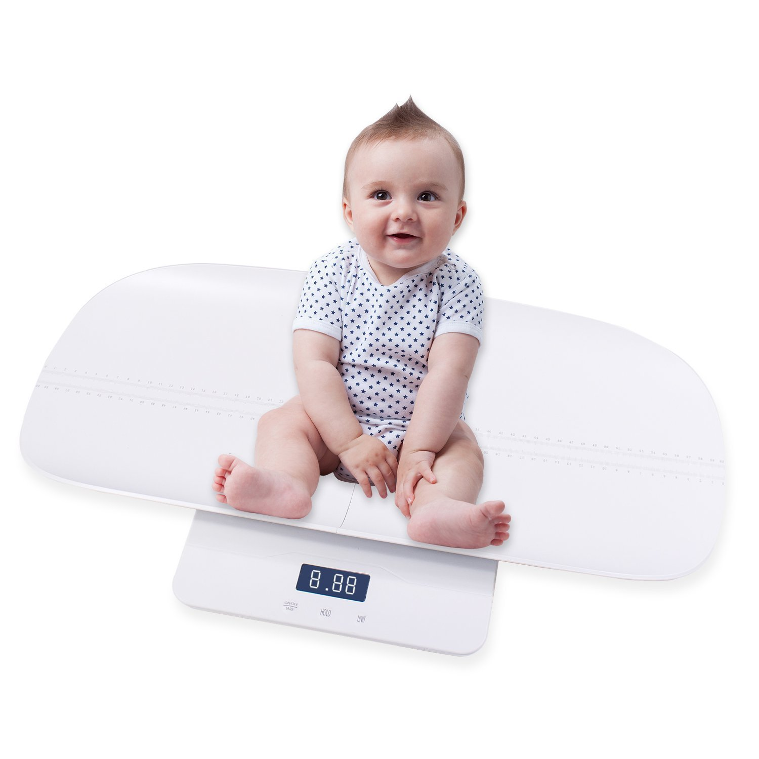 HealthTree Multi-Function Digital Baby Scale to Measure Infant Weight Accurately