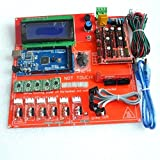 KINWAT Reprap Ramps 1.4 Kit with Mega 2560 r3 + Heatbed mk2b + 2004 LCD Controller + A4988 Driver + Endstops + Cables for 3D Printer