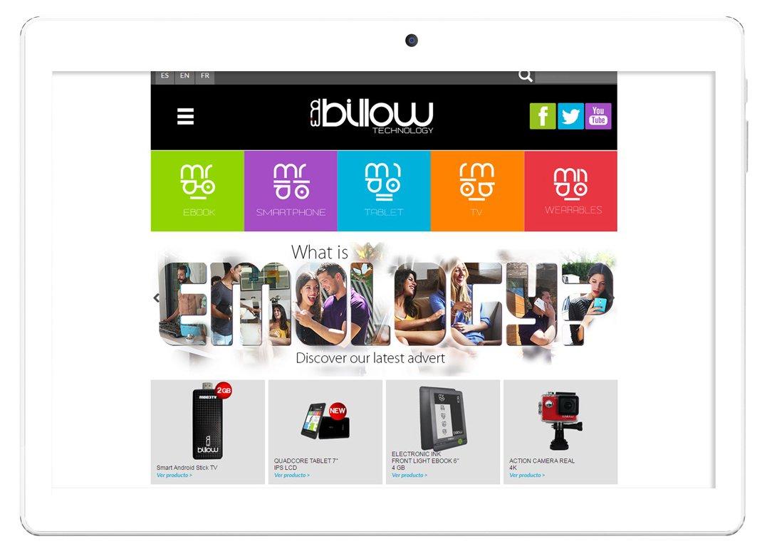 Billow Technology X101PRO - Tablet de 10.1