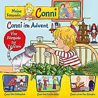 10: Conni im Advent/fährt Schlittschuh/lässt Drachen steigen/und der fiese...