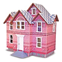 Casa de muñecas de madera victoriana Melissa & Doug Classic Heirloom