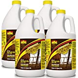 Ultra HIGH Gloss 33% Solids Floor Finish Wax - (More Durable, Less Coats, Less Labor) (4 GALLONS)