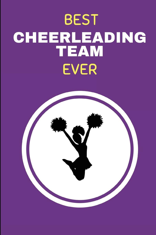 Read Online Best Cheerleading Team Ever: Journal Notebook For Writing Cheerleader Songs And Lyrics ebook