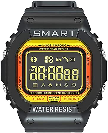 Riverry Smart Sport Watch, EX16T Smart Watch podómetro gestión del Deporte Impermeable información sobre Las Llamadas Notificaciones Bluetooth Night Light Sports Bracelet: Amazon.es: Hogar