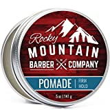 Pomade for Men – 5 oz Tub Classic Styling Product with Strong Firm Hold for Side Part, Pompadour & Slick Back Looks – High Shine & Easy to Wash Out – Water Based