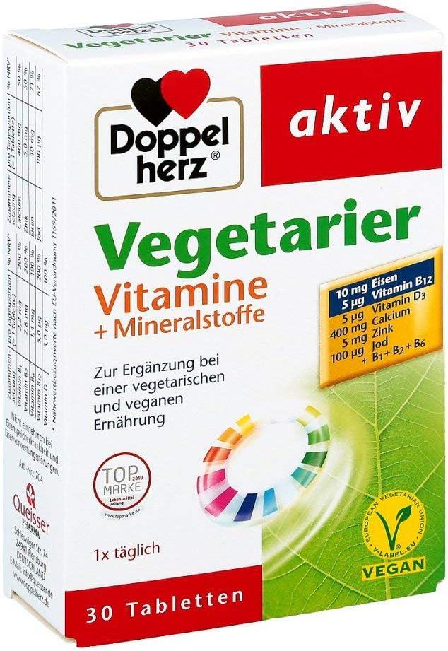 doppelherz Vegetarier vitamine+mineralstoffe