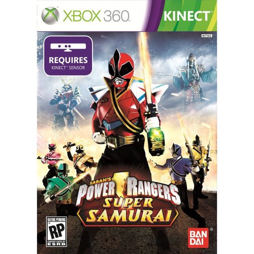 Power Rangers Super Samurai Xbox 360 Kinect - Factory Sealed