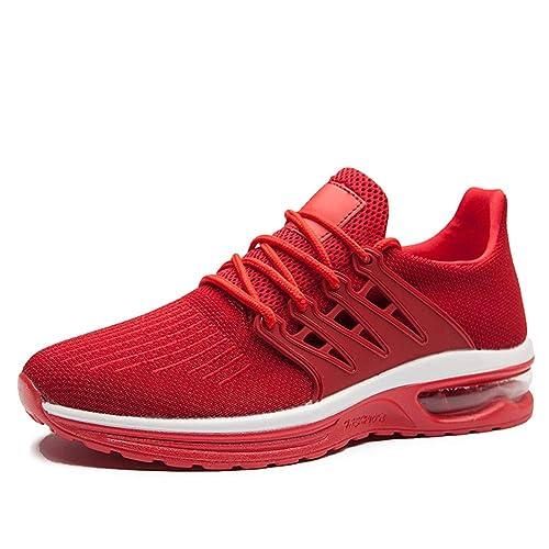 AZOOKEN Zapatillas Running para Hombre Aire Libre y Deporte Transpirables Casual Zapatos Gimnasio Correr Sneakers 39-45: Amazon.es: Zapatos y complementos