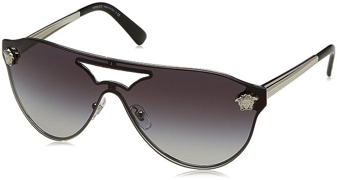 31b411c844 Versace VE2161 Sunglasses 10008G-42 - Silver Frame