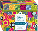 Iota Cooking with Color Recipe File Box,
