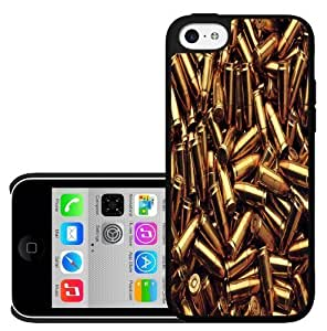 LJF phone case Loose Gold Bullets Hard Snap on Phone Case (iPhone 5c)