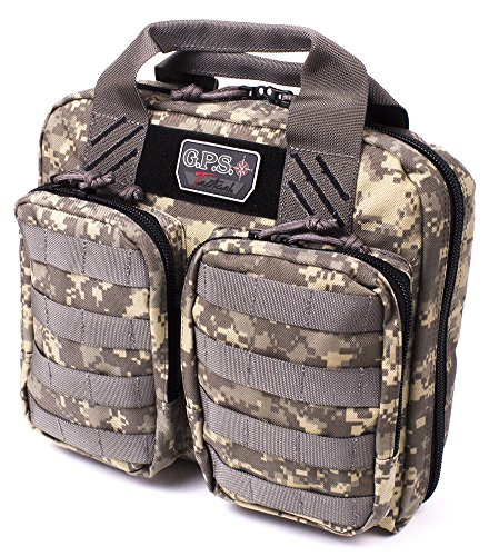 - G.P.S. G Outdoors GPS-T1410PCDC Tactical Double + 2 Pistol Case